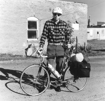 [a picture of bicycle tourin g in 1980; image source]